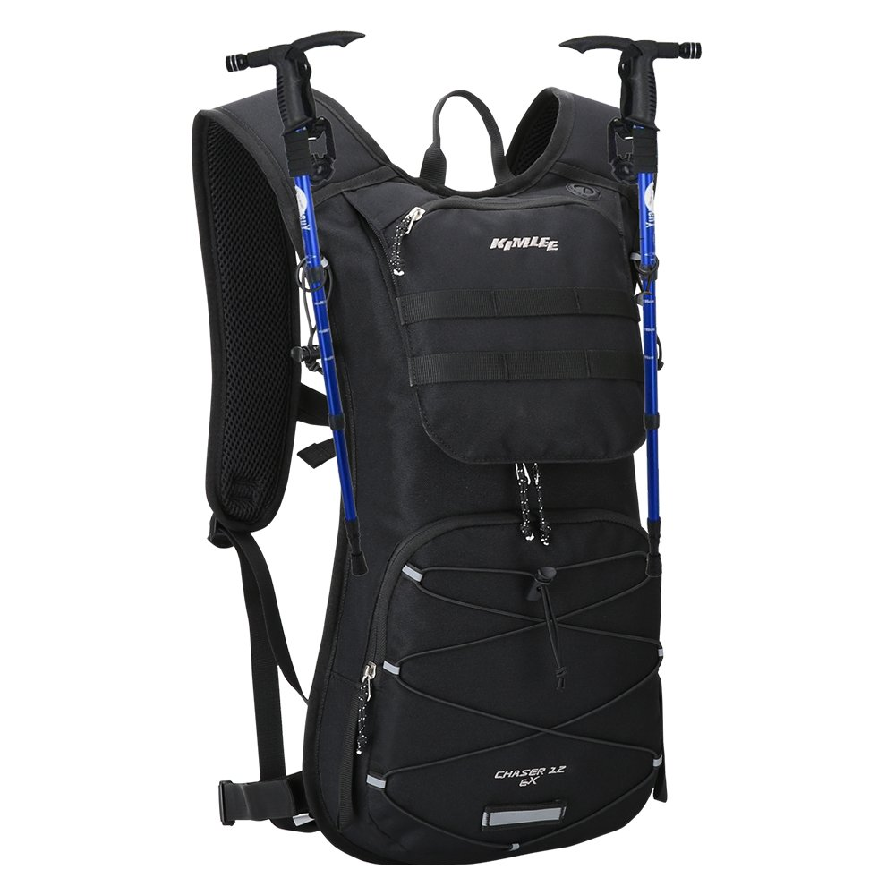 Amazon.com : Kimlee Hydration Backpack 12L Running Hiking Climbing Pack Cycling Bladder Bag : Sports & Outdoors