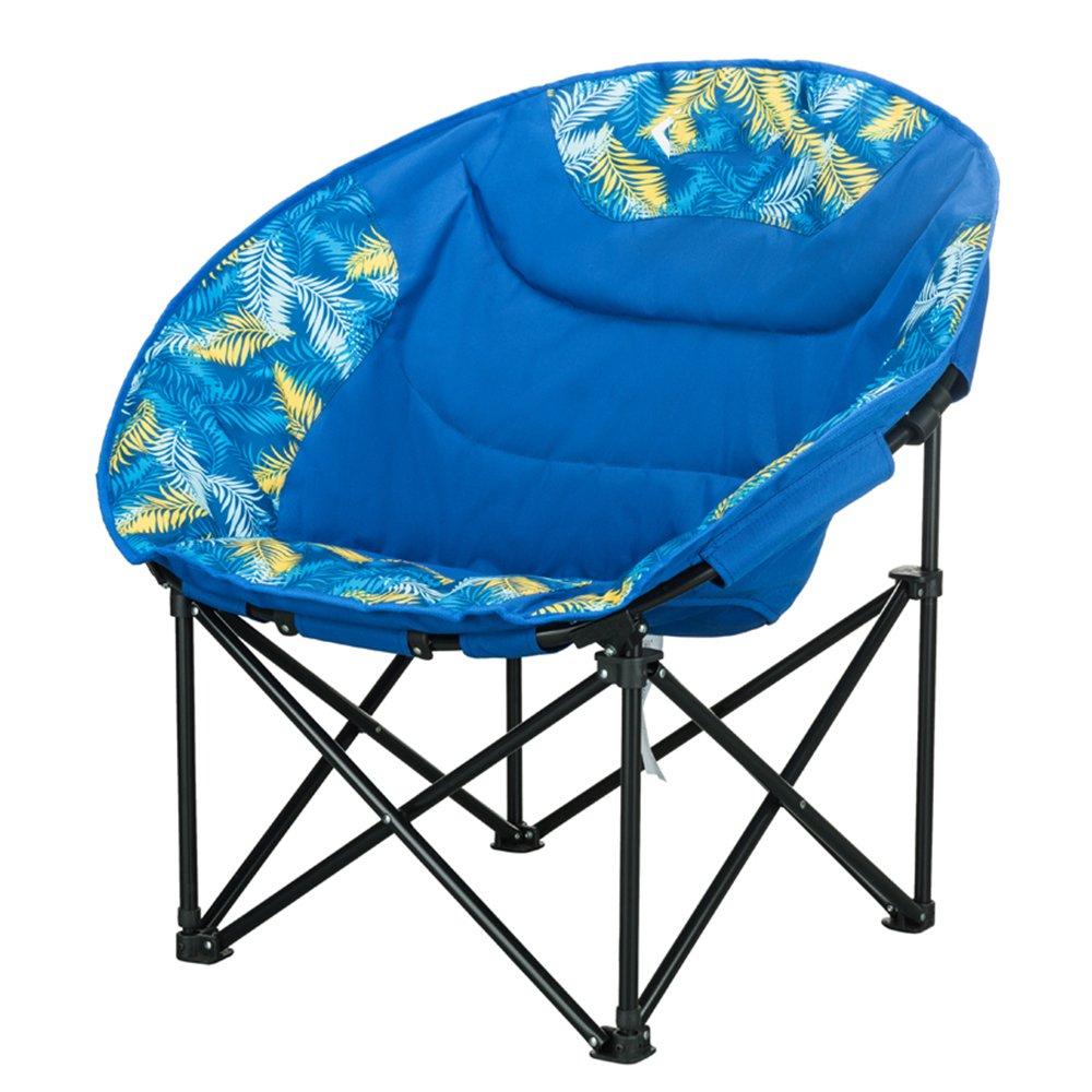 LDFN Tragbarer Campingstuhl Freien Skizze Strand Grill Multifunktions- Eisen- und Oxford-Tuchklappstuhl,C-505080cm