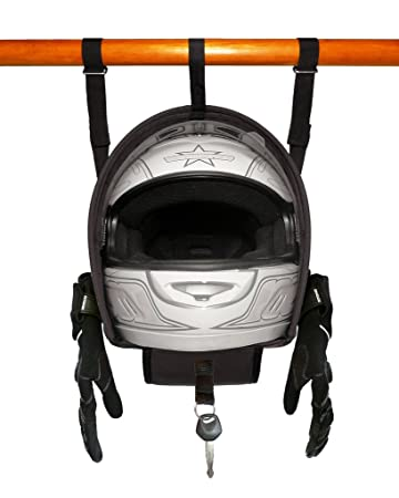 Helmet Hammock U2013 Motorcycle Helmet U0026 Accessory Storage Bag Shelf Hanger (By  Two Wheel Addiction