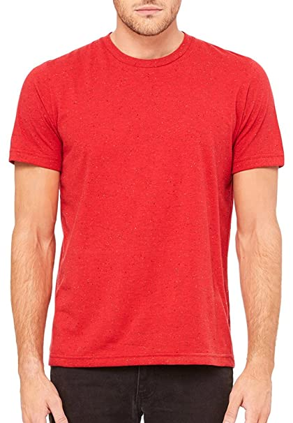 f1d4cf4259da Bella + Canvas Unisex Poly-Cotton Short-Sleeve T-Shirt (3650)- RED ...