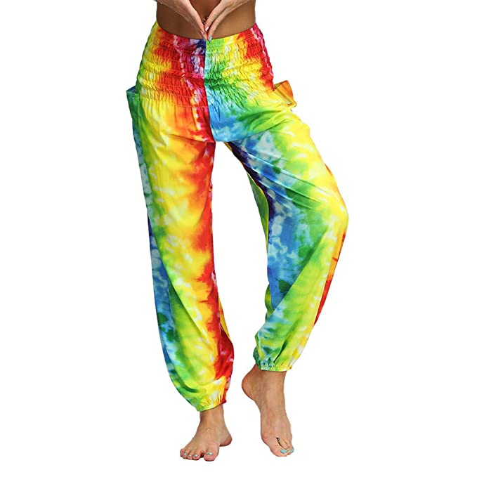 Darringls Pantalones Yoga Mujeres, bonzaai pantalones harem ...