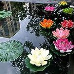 1-PCS-10cm-Floating-Lotus-Artificial-Flower-Wedding-Home-Party-Decorations-DIY-Water-Lily-Mariage-Fake-PlantsOrange
