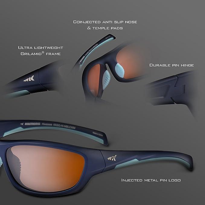 Amazon.com: KastKing Hiwassee - Gafas de sol deportivas ...