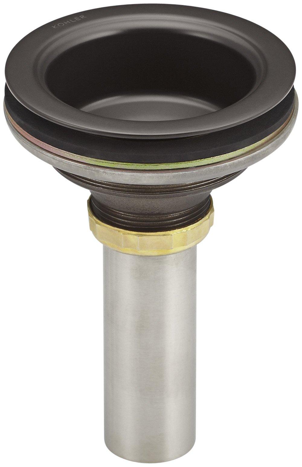 Kohler K-8804-2BZ Duostrainer Strainer Body, Oil Rubbed Bronze