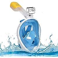 Innoo Tech Full Face Snorkeling Mask, 180° Seaview Scuba Diving Snorkel Mask for Kids Adult, Snorkeling Mask Full Face…