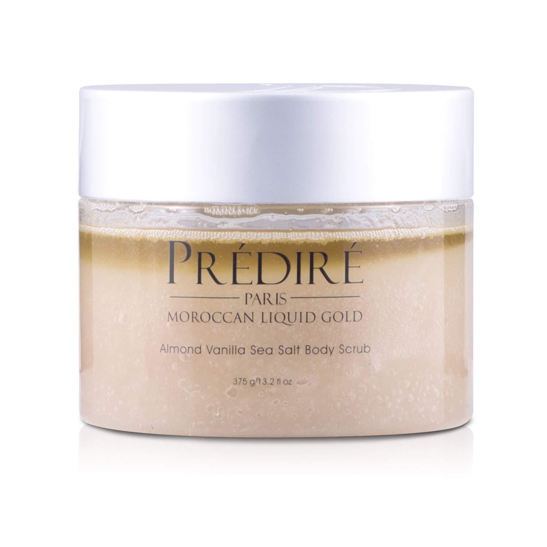 Amazon Com Almond Vanilla Sea Salt Exfoliating Body Scrub With
