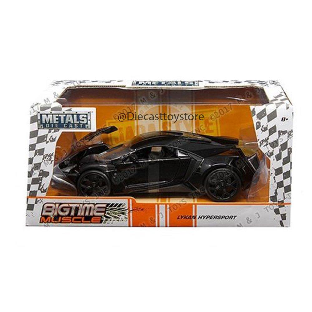 Jada Lykan Hypersport 1 24 Scale Diecast Model Car Black