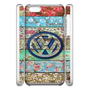 Volkswagen Car Logo For Cell Phone Case iPhone 5c 3D White Case Cover W13W7040677