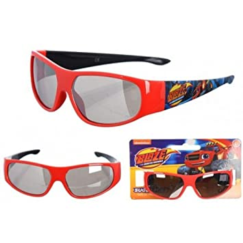 e31cef49d14d Kids Childrens Boys Blaze The Monster Machines Sunglasses Red:  Amazon.co.uk: Sports & Outdoors