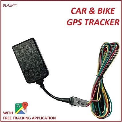 Blazr GPS Tracker with Lifetime Free Online Tracking: Amazon