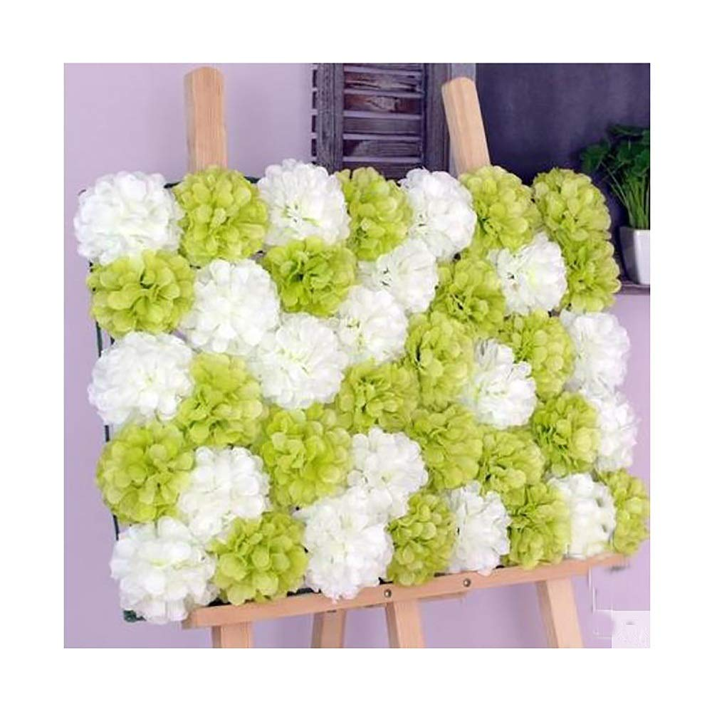 YI GAO Wedding Flower Wall Plant Fake Flower Wall Wall Living Room Decoration Flower Wall Image Wall Net Red Simulation Flower Wall Studio Photography Background @ (Color : F) by YI GAO