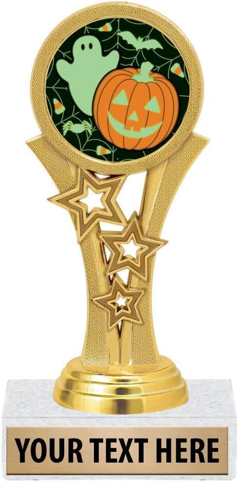 Customized Pumpkin Harvest Trophy Awards Prime 11 Halloween Pumpkin Trophies