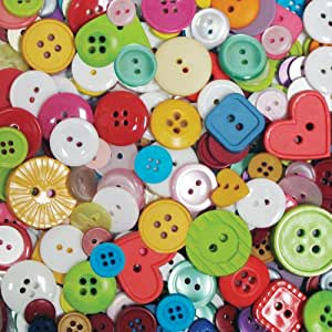 Blumenthal Lansing Company Favorite Findings 4-Ounce Big Bag of Buttons, Multi