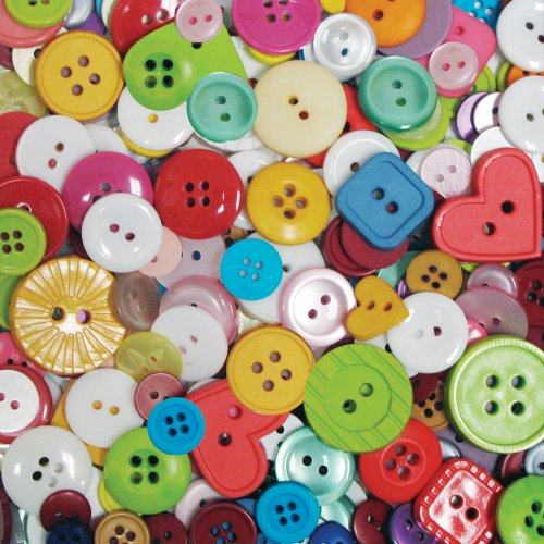 Blumenthal Lansing Company Favorite Findings 4 Ounce Big Bag Of Buttons  Multi