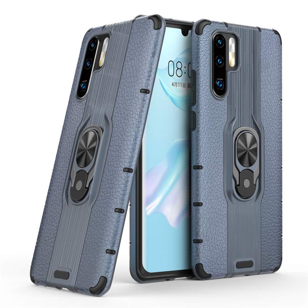 Black MHHQ Huawei Honor 8X Custodia 360/° Girevole Regolabile Ring Armor Bumper TPU Case Magnetica Supporto Smartphone Silicone Custodie Case Cover per Huawei Honor 8X