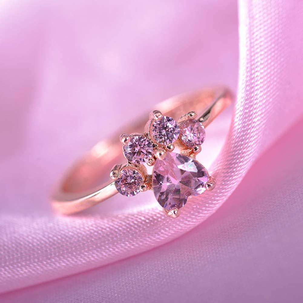 Taglia libera Gold SYN Cat-pad lega apertura zircone per donne Fabala matrimonio regolabile