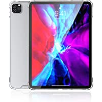 Shamo's iPad Pro 11 Case 2020 Clear View with Shockproof Drop Protection Slim Hybrid TPU Gel Bumper and Hard PC Scratch Resistant Back Cover for Apple iPad 2020 (For 11-inch display iPad)