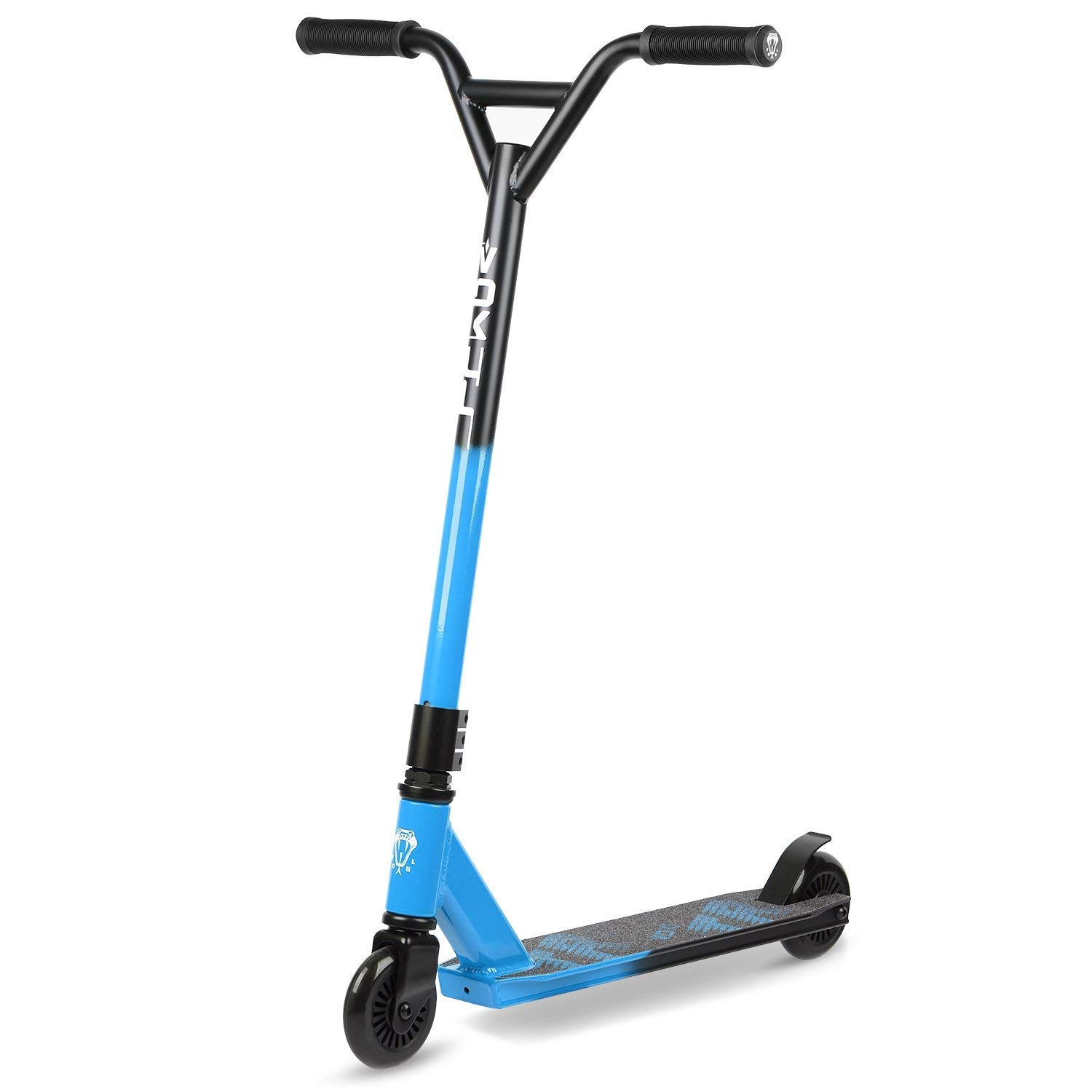 VOKUL TRII-S2 Freestyle Pro Stunt Scooter - Best Entry Level (Blue)