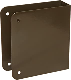 for Installing The Marks Levers Oil Rubbed Bronze Finish Don-Jo 75-CW 22 Gauge Stainless Steel Wrap-Around Plate 4-3//4 Width x 5-1//2 Height