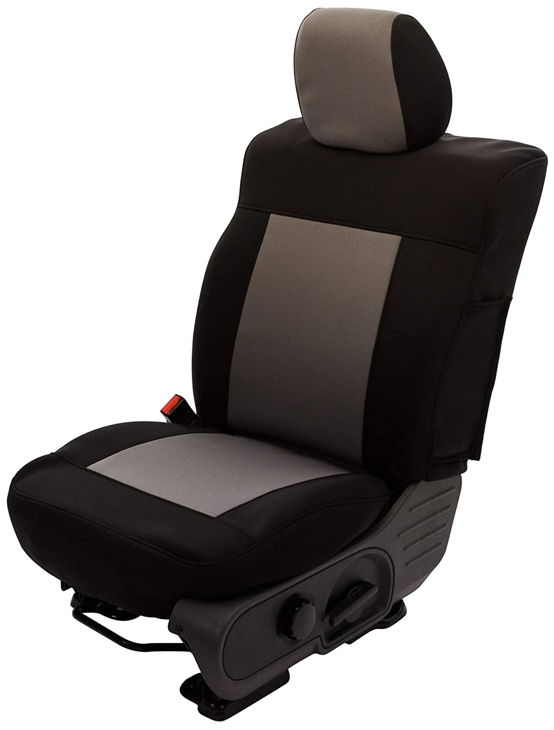 Saddleman S 199914-06 Red//Black Custom Made Rear 60//40 Split Bench with 3 adj headrests Seat Covers