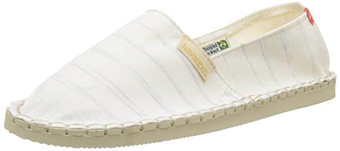 Amazon.com | Havaianas Mens Origine NP Espadrilles, Beige, 11 US | Shoes