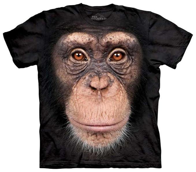 837ba254aedf1 Teeshirtpalace la montaña camiseta diseño de mono cara multi ropa  accesorios jpg 679x596 Mono su cara