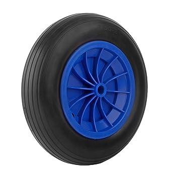 Forever Speed 3.50-8 Rueda maciza para carretilla de almacén profesional o doméstico (1