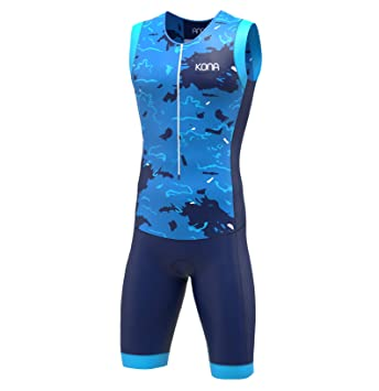 Amazon.com: KONA Assault Traje de triatlón de carrera ...
