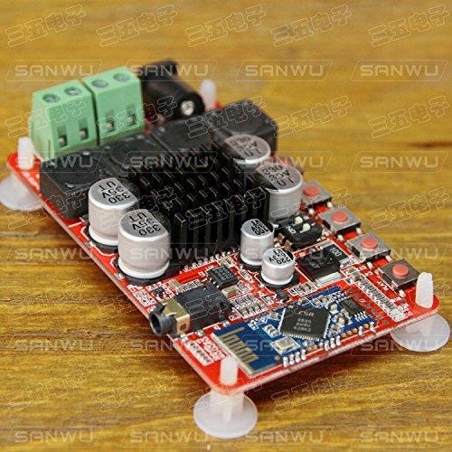 Diybigworld TDA7492 digital power amplifier CSR 2X50W Bluetooth audio receiver before and after class amplifier 35 by Diybigworld