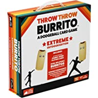 Throw Throw Burrito by Exploding Kittens: Extreme Outdoor Edition - A Dodgeball Card Game - Family Card Game - Card…