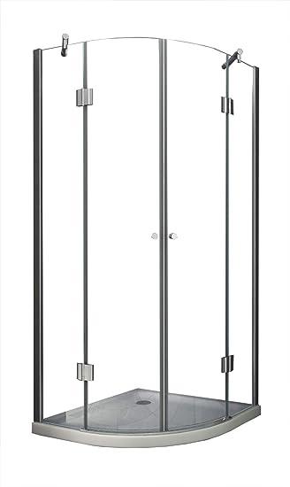Mampara de 80 x 180 cm ANGOLO (cuadrante): Amazon.es: Bricolaje y herramientas