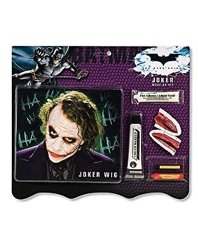 peluca Joker y kit de maquillaje