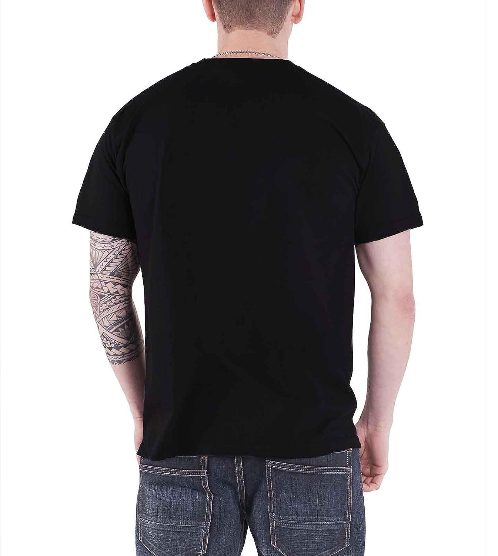 Burzum T Shirt Det Som Engang Var 2013 band logo Oficial de los hombres negro