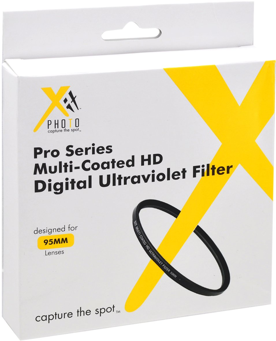 Xit XT72UV 72 Camera Lens Sky and UV Filters