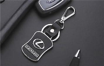 Lexus Diseñador Cuero / metal llavero del coche con la caja ...