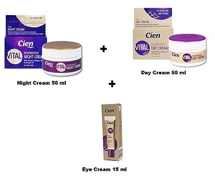 Cien Vital 8778556 Crema (Crema de Día 50 ml + nachtreme 50 ml + Crema