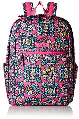 Vera Bradley Women's Lighten Up Grand Backpack, Kaleidoscope Rosettes