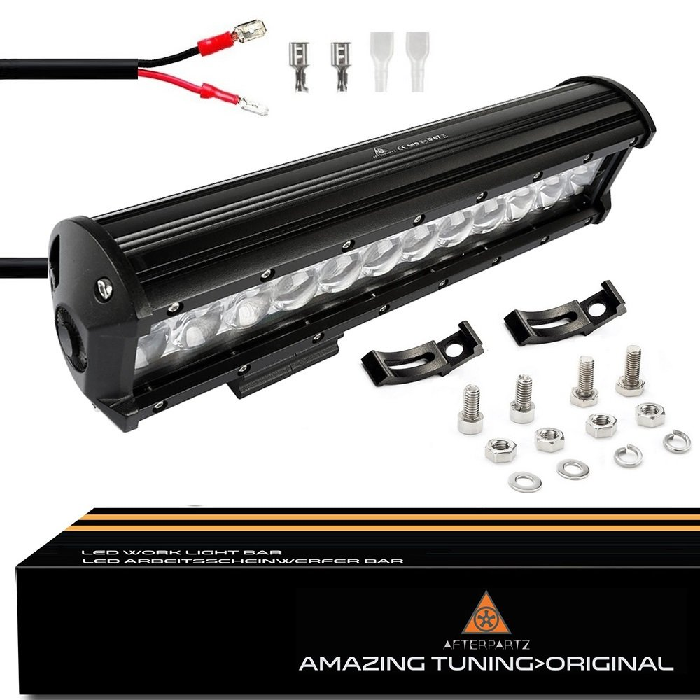 AFTERPARTZ LED Arbeitsscheinwerfer Bar CREE Chips 20650LM Combo Reflektor Scheinwerfer Arbeitslicht 36 D4