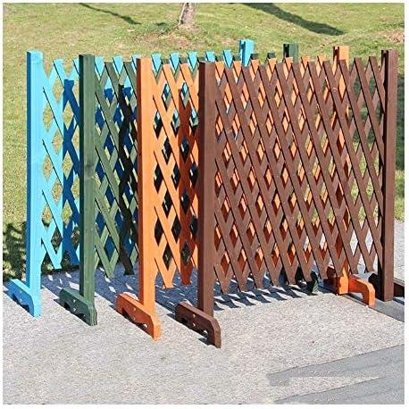 YouNITE 木製ガーデンウォールフェンスパネル工場を展開するホーム庭庭の装飾のためのトレリスパーティション装飾的な庭のフェンスを登ります (Color : Green)