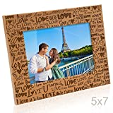Kate Posh - I Love You, Te Amo, Ti Amo, Je T'aime Picture Frame (5x7 Horizontal)