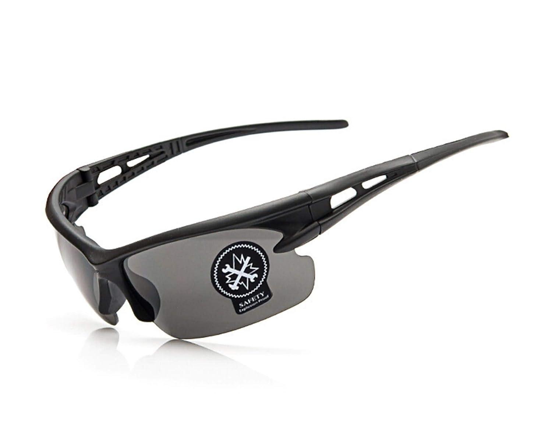 DOLOVE Motorrad Brille Herren Sportbrille Polarisiert Nachtfahrbrille Auto Gelb