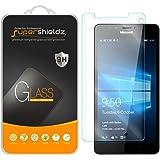 [2-Pack] Microsoft Lumia 950 Tempered Glass Screen Protector, Supershieldz Anti-Scratch, Anti-Fingerprint, Bubble Free, Lifetime Replacement Warranty