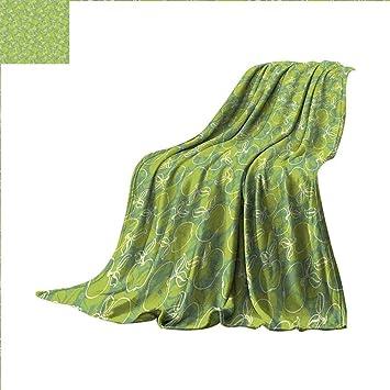 Amazon.com: Manta de franela de diseño personalizado con ...