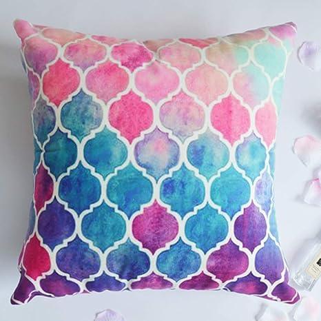 QYLOZ Almohada Color Caramelo Almohada cojín sofá Almohada ...