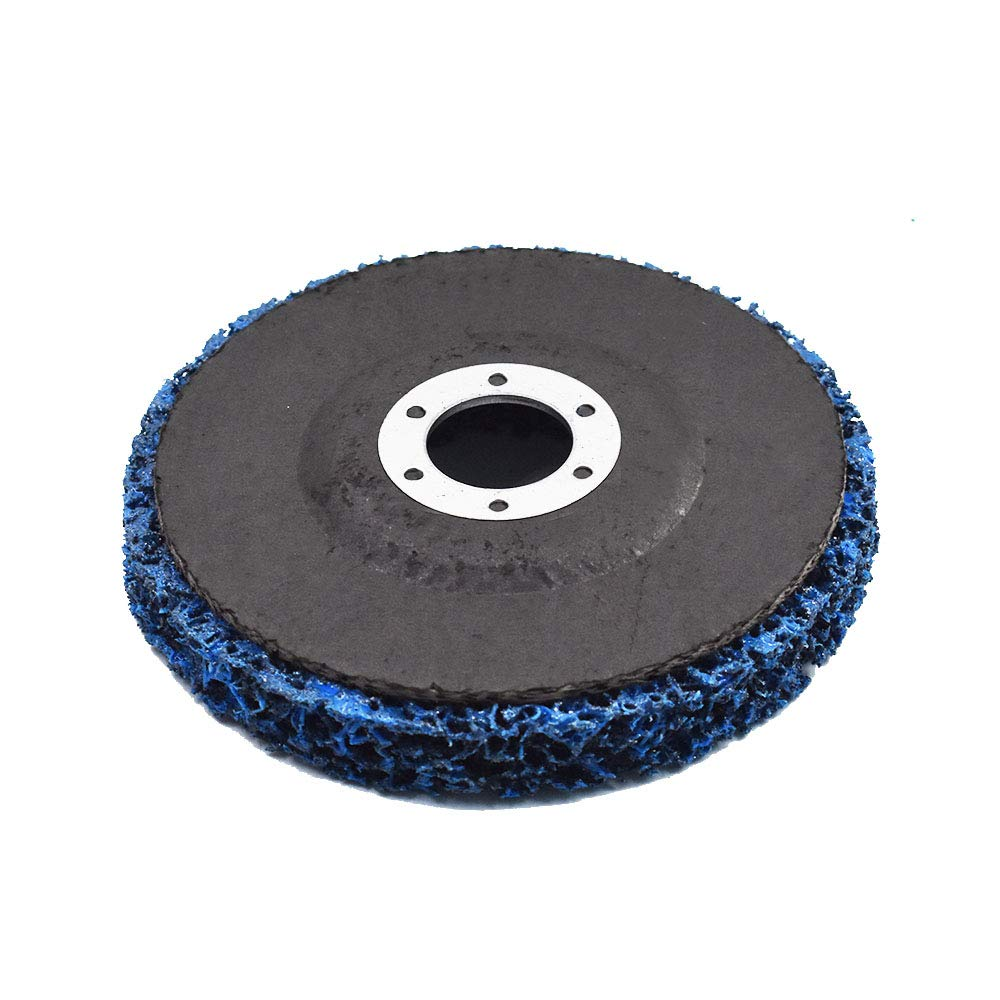 5Pack- 4-1/2'' x 7/8'' Strip&Clean Discs For Angle Grinders-Removes Rust?Strips Paint?Cleans Welds by findmall