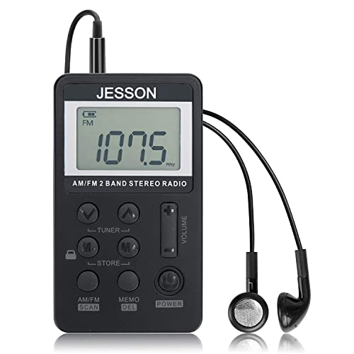 Jesson personal AM/FM pocket radio review
