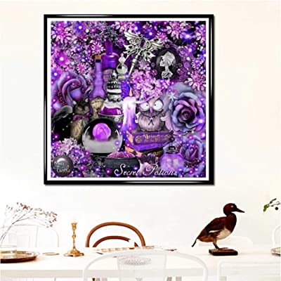 NIHAI DIY 5D Diamond Painting Kit- Full Drill Diamond Embroidery Paintings Clearance Rhinestone Pasted Cross Stitch Arts Craft Canvas for Home Decor Contain Tools (C): Arts, Crafts & Sewing