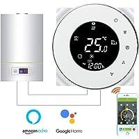 Termostato Inteligente para caldera de gas/agua,Termostato Calefaccion Wifi