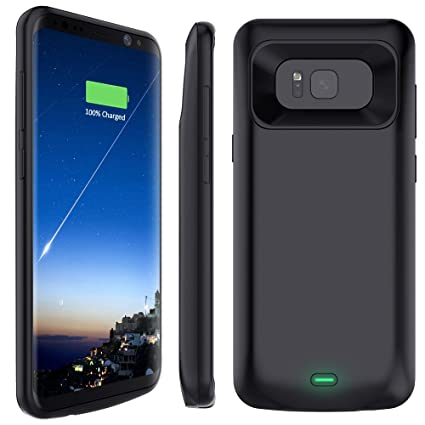 factory price 49047 67cb9 Galaxy S8 Battery Case, Stoon 5000mAh Portable Charger Case ...