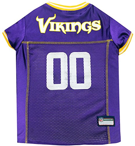 - NFL MINNESOTA VIKINGS DOG Jersey, Small